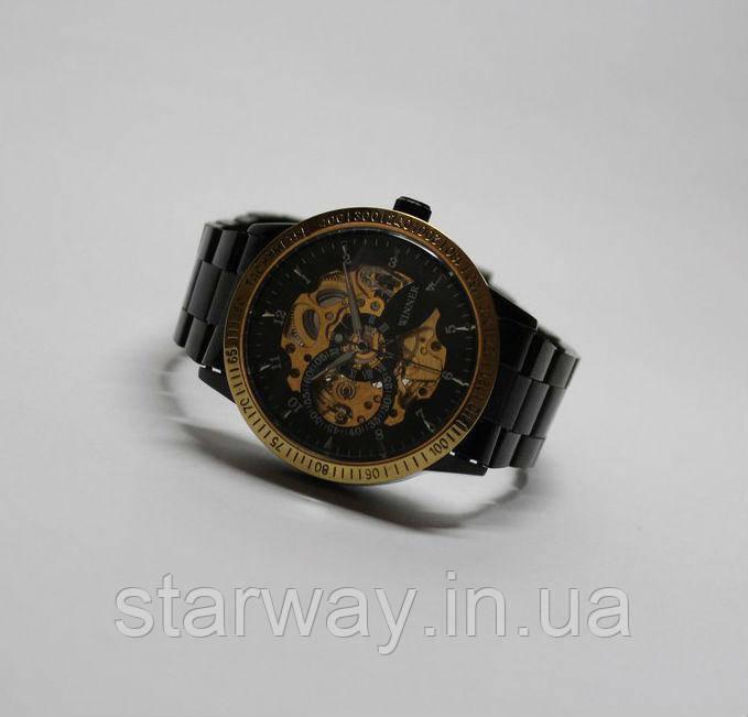 Наручные стильные часы Winner Skeleton