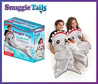 Плед в форме акулы Snuggie Tails для мальчик.