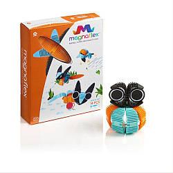 Гнущийся магнитный конструктор WowWee Magnaflex - Animals Set (14 детатей)