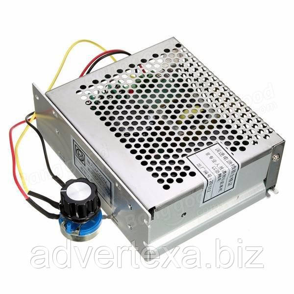Блок питания 0-100 вольт с регулятором скорости для электро шпинделя 500 ват