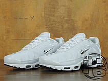 Мужские кроссовки Nike Air Max Plus TN White Metallic Silver ... 4ef877c4c9c58