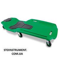 Лежак автослесаря подкатной пластиковый профи Pro-Series  TOPTUL JCM-0401