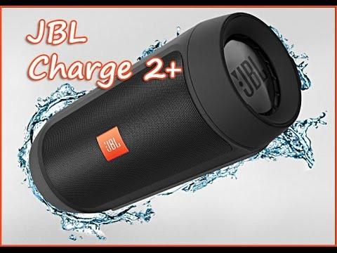 Портативная беспроводная Bluetooth колонка JBL Charge 2+, зарядное