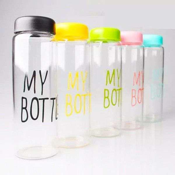 Бутылочка для воды My Bottle Май Ботл 5 цветов 500мл, Rivers