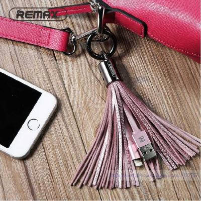 Lightning кабель-брелок Remax Tassel Ring для iphone