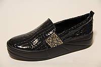 Женские туфли из натуральной кожи ВАЛ 0518 ЧЛ
