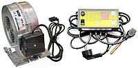 Регулятор температуры Kom-Ster ATOS + нагнетательный вентилятор MplusM WPA X2