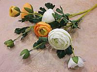 Искусственные цветы Роза Пион 63см, ветки роз, флористика и декор