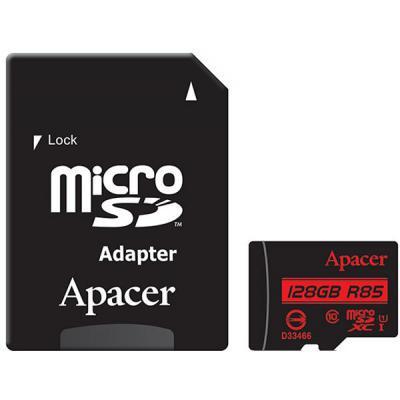 Карта памяти Apacer 128GB microSDXC Class10 UHS-I (AP128GMCSX10U5-R)