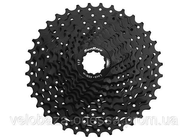 Кассета инд. 10-k 11-42T SUN RACE MTB MS2 алюминиевый паук, EDB, фото 2