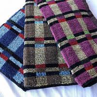 Недорогое качественное кухонное полотенце разных цветов