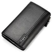 Клатч портмоне Baellerry 1001bl чорний, фото 1