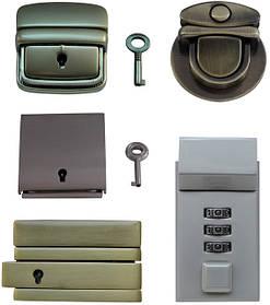 Замки для сумок, барсеток, портфелей