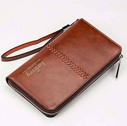 Мужской кошелек портмоне клатч Baellerry Leather, Байлери