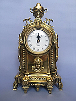 "Часы каминные ""Башня-2"" из бронзы"
