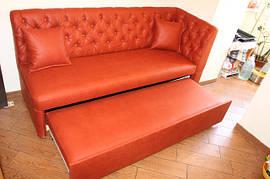 Мягкая кухонная мебель со спальным местом