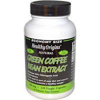 Healthy Origins, Экстракт зеленого кофе, 400 мг, 120 капсул Veggie