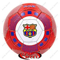 Мяч футбольный клубный №5 Barcelona FB-0047-771 (№5, 5 сл., сшит вручную)