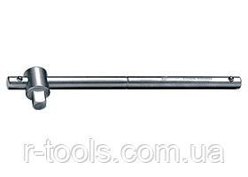 Вороток 115 мм квадрат 1/4 CrV хромированный MTX MASTER 139869