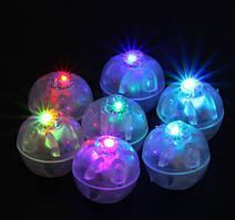 Светодиоды для шариков круглые цветные.