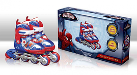 Ролики Disney Spider Man (RS0109) на шнуровке