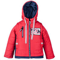 Демисезонная Куртка-жилет. Новая коллекция 2018 года для мальчика 104-122р