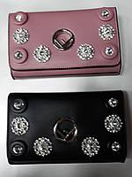 Модная сумка-клатч через плечо Fendi, кожа