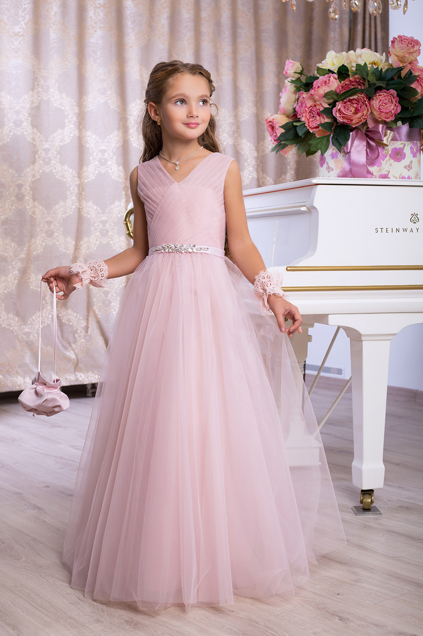 4736e19883b Платье выпускное детское нарядное D966 - МОЙ МИР - товары для детей