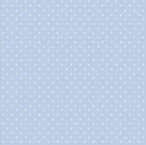 Обои бумажные Континент Зайцы голубые 1316