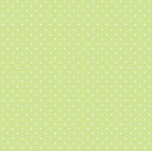 Обои бумажные Континент Зайцы зеленые 1317