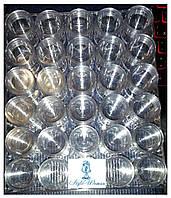 Баночка с закруткой прозрачная тара емкость 12мл упаковка 30шт