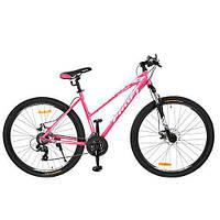 """Спортивный велосипед Profi Розовый 29"""" (G29ELEGANCE A29.1) с оборудованием Shimano 21SP"""
