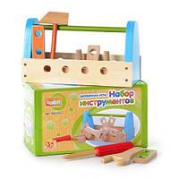 Деревянная игрушка Набор инструментов MD 0513 в кор-ке, 23-13-10,5см