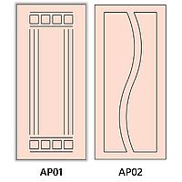 МДф накладки на двери без покрытия