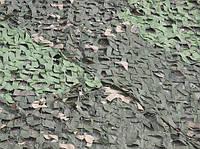 Маскировочная сетка 3х6м ПВХ 100% затемнения, зеленая