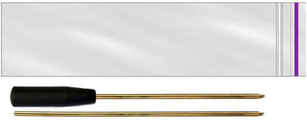 Шомпол латунный двухсекционный для чистки пневматического оружия 1 ПЭ