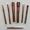Профессиональный набор кистей для макияжа Kylie Jenner 7 шт (золотая металлическая упаковка), фото 4