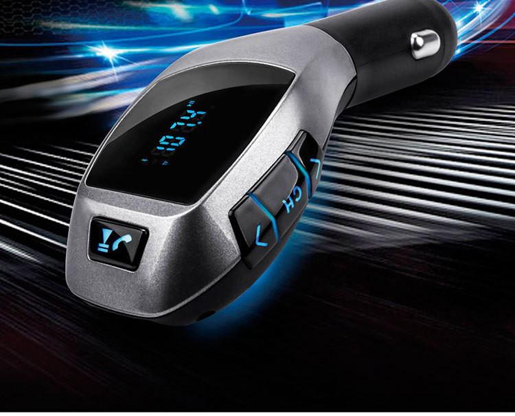 Автомобильный FM трансмиттер модулятор H20