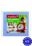Віскозна ганчірка для кухні Profissimo Allzwecktücher (6 шт.) Німеччина