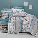 Полуторное постельное белье с простыню на резинке 90/200/25 - Моника, бязь