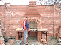 Ремонт каминов ,печей, барбекю,дымоходов