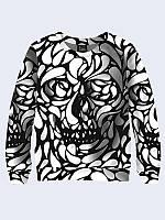 Свитшот Black and white skull