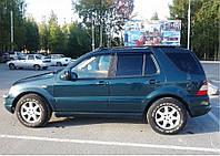Дефлекторы окон (ветровики) Mercedes Benz M-klasse (W163) 1996-2005