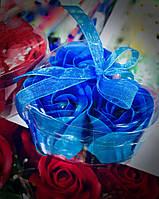 Мыло Ароматизированное Розочки Сувенир для Влюбленных к 14 февраля День Святого Валентина Подарок к 8 Марта