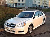 Дефлекторы окон (ветровики) Subaru Legacy V Sd 2009