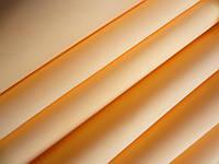 Шелковый фоамиран, ПЕРСИКОВЫЙ, 0,6-0,8 мм, 23х23 см, Китай, уценка