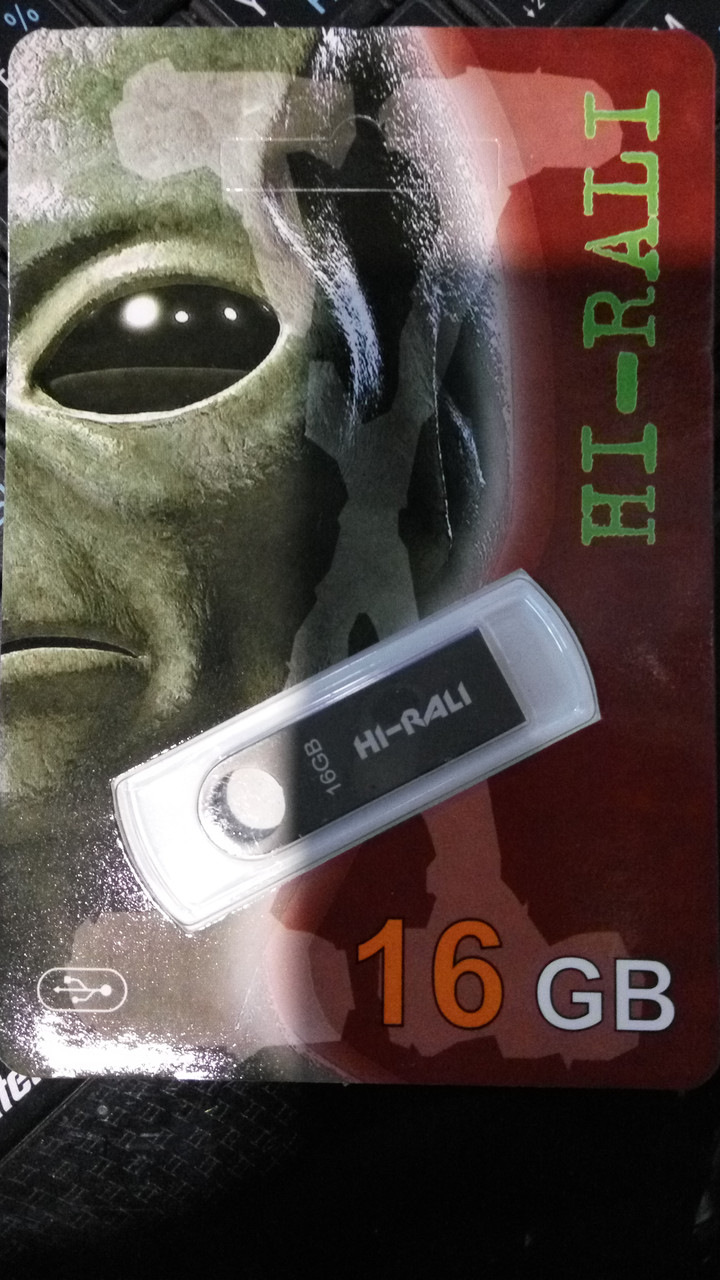 Флешка Hi-Rali 16GB Shuttle series Silver