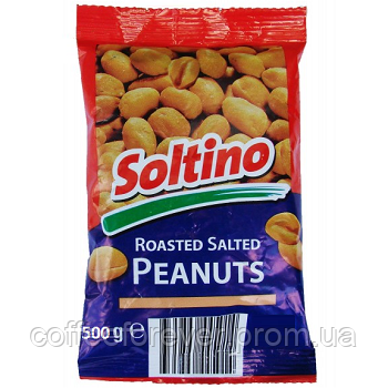 Арахис жареный, соленый Soltino 500 гр., фото 2