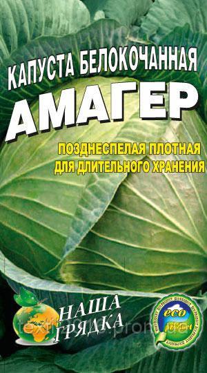 Лучшие сортовые семена Капуста Амагер