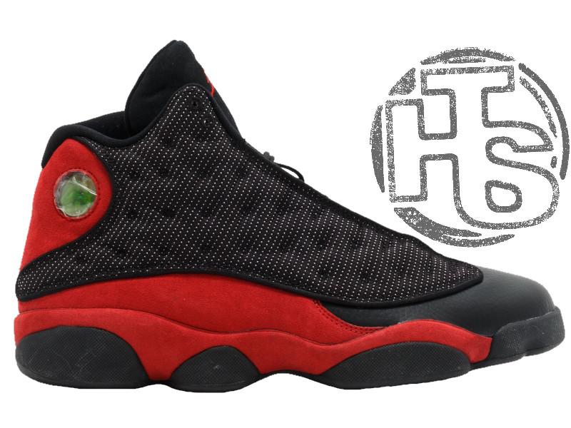 Мужские кроссовки Air Jordan 13 Retro Bred Black/Varsity Red 414571-010